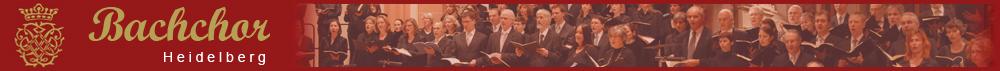 Willkommen beim Bachchor Heidelberg